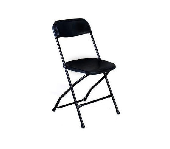 Black Folding Chairs Rentals My Florida Party Rental