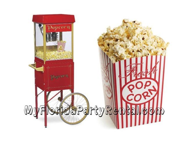 Pop Corn Machine Cart Rental