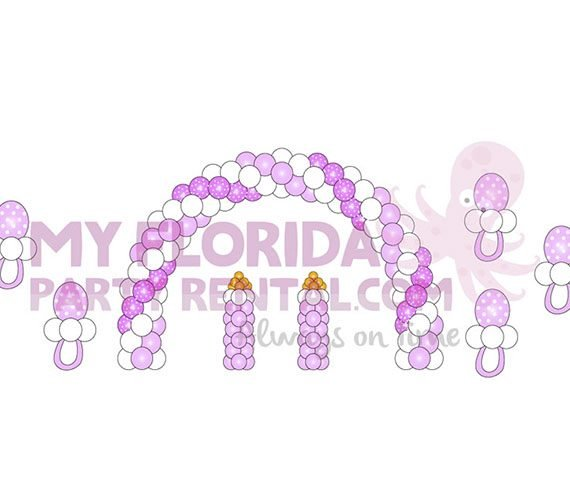 baby shower balloons my florida party rental