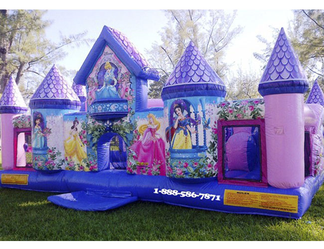 Inflatable Princess Palace For Juniors My Florida Party