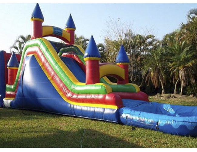 Charmant Water Slide Imperial With Bounce House