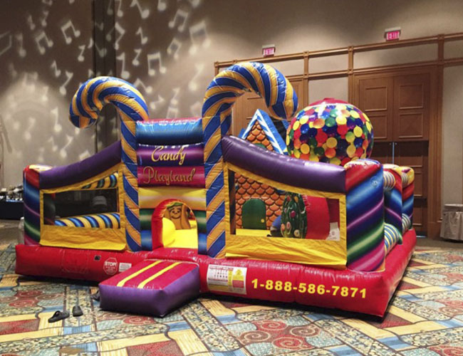 Bouncers With Slide Bounce House Slide Inflatable