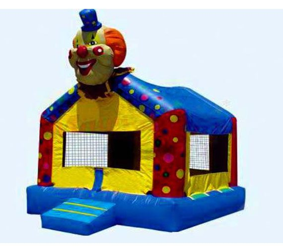 Bounce House Clown My Florida Party Rental