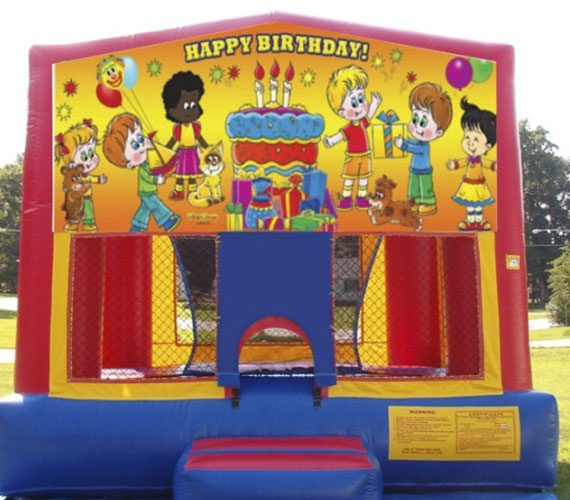 Happy Birthday Bounce House My Florida Party Rental