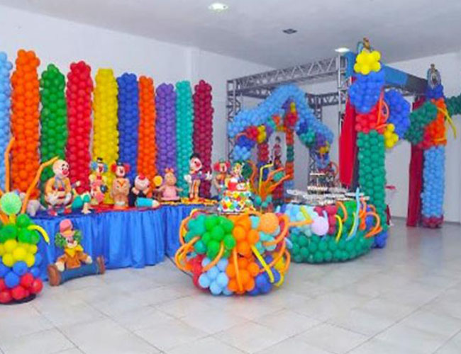 decoracion de payasos y globos my florida party rental