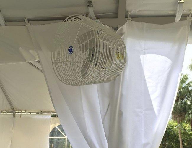 Pole Tent Fan Rentals & Pole Tent Fan Rentals - My Florida Party Rental
