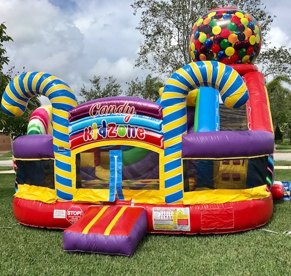 Candy Zone Bounce House Rentals My Florida Party Rental