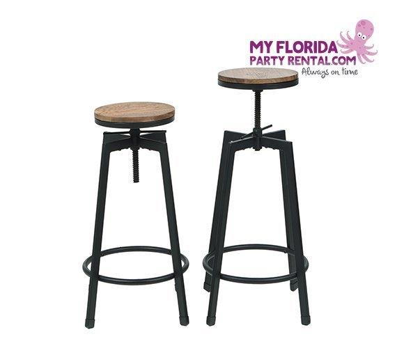 Rustic Bar Stool My Florida Party Rental : rustic bar stools rentals 570x500 from www.myfloridapartyrental.com size 570 x 500 jpeg 23kB