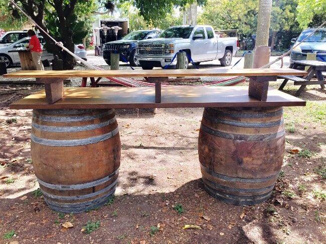 Barrels Bar Rentals My Florida Party Rental